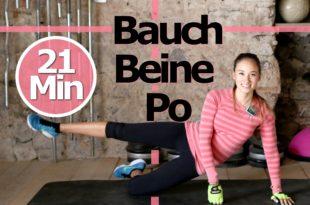 Top Video: Bauch Beine Po Workout für Zuhause