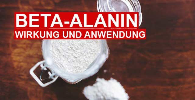 Beta Alanin Wirkung, Anwendung und Dosierung
