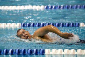 Muskelaufbau durch schwimmen.