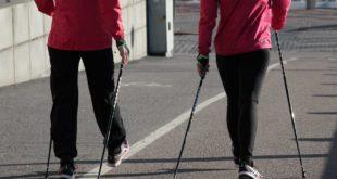 Mit Nordic Walking die Gesundheit fördern
