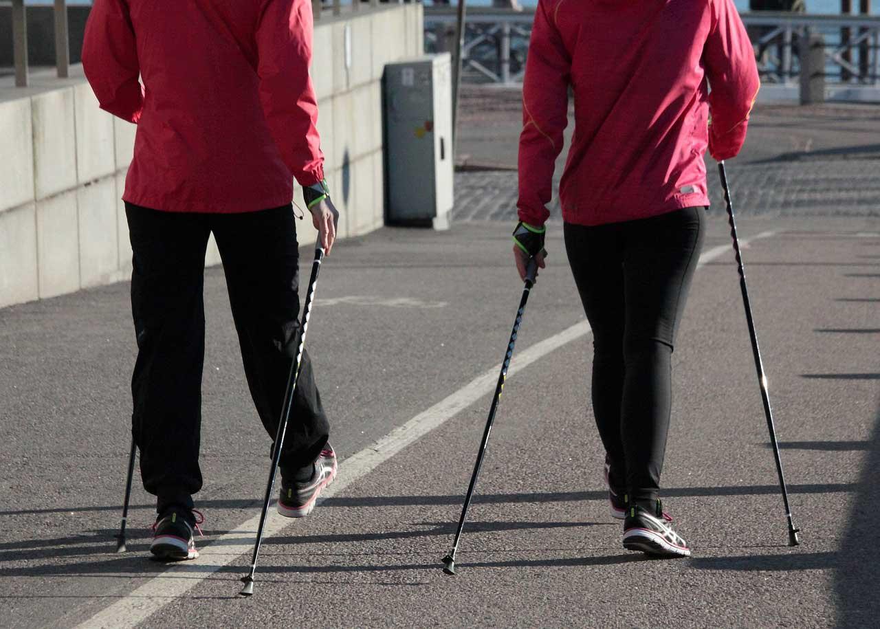 Fettverbrenner Nordic Walking