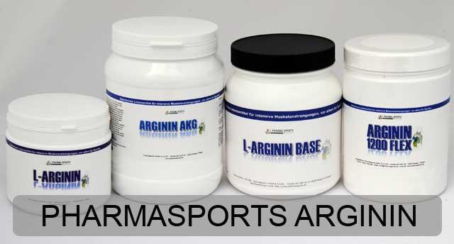 Kaufempfehlung: Pharmasports L-Arginin Produkte