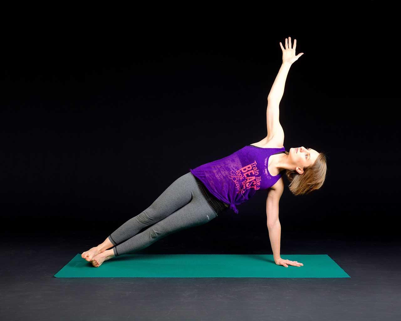 """Binden Sie """"Die Planke"""" mit in Ihr Workout ein."""