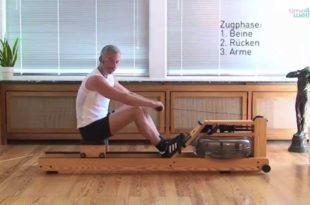 Rudergerät - 10 Tipps für das richtige Rudern