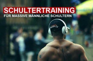 Schultertraining - Übungen für massive Schultern!