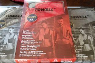 Towell Plus - Das Sporthandtuch das seinen Namen verdient!