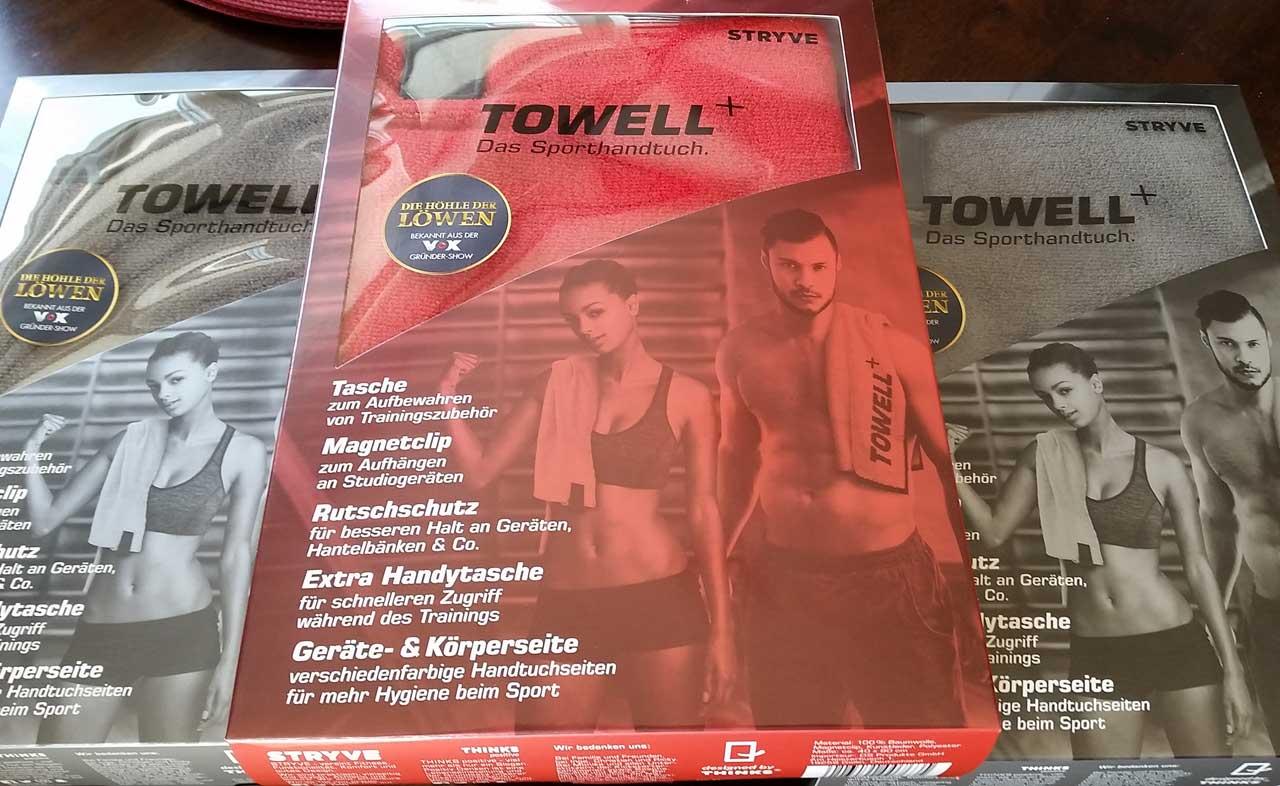 Towell + Das Sporthandtuch