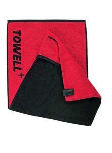 Geräte- & Körperseite: verschiedenfarbige Handtuchseiten