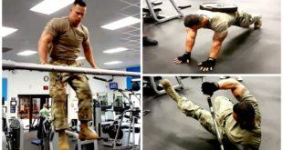 Das härteste Army Workout Fitness Video