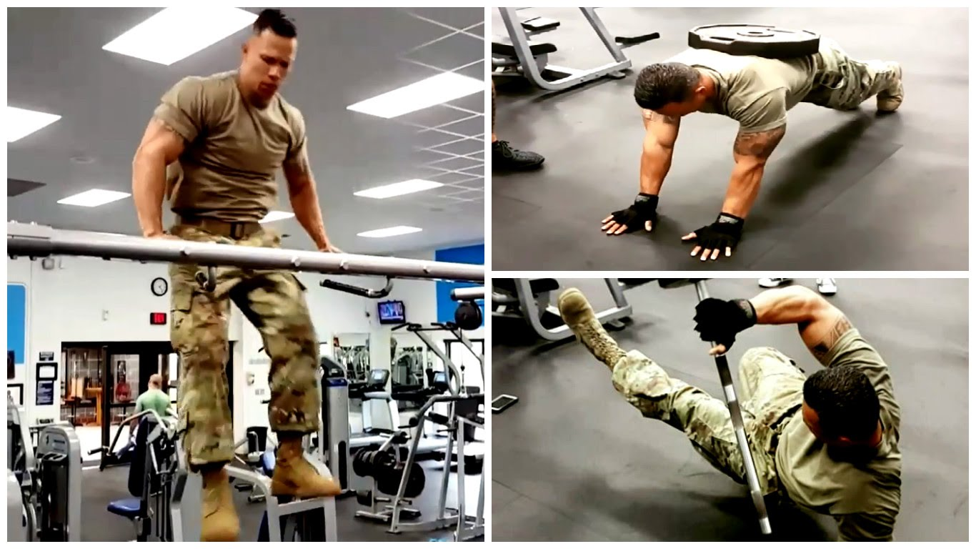 BIG ARMY GUY - Extreme Fitness